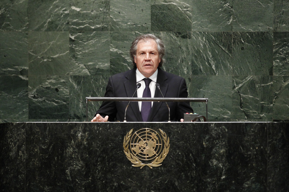 H.E. Mr.Luis Almagro