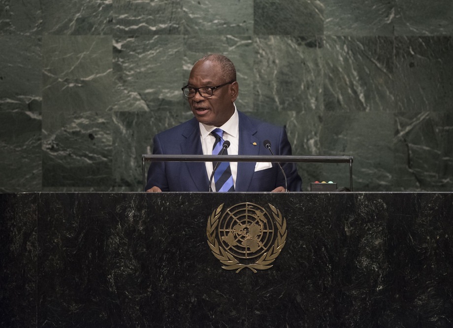 H.E. Mr.Ibrahim Boubacar Keita