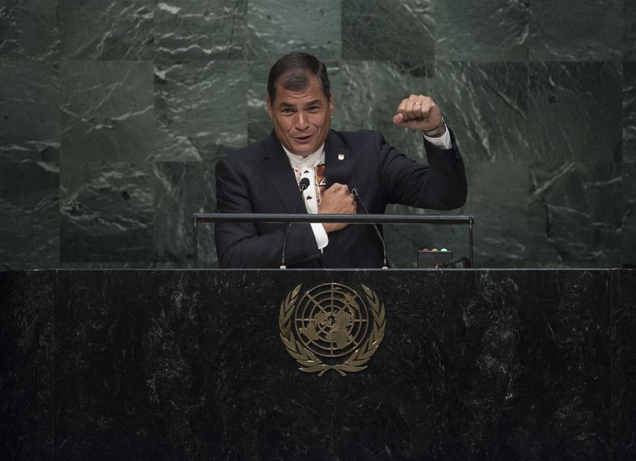 S.E. M.Rafael Correa Delgado