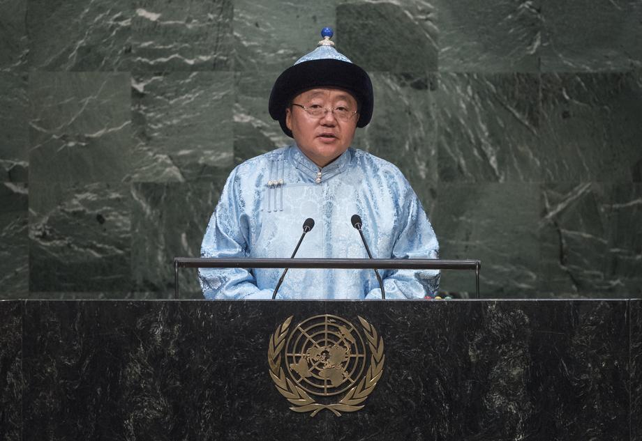 H.E. Mr.Elbegdorj Tsakhia