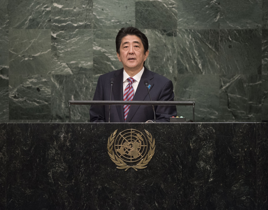 H.E. Mr.Shinzo Abe