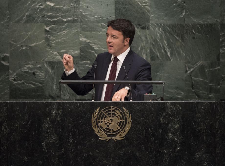 H.E. Mr.Matteo Renzi