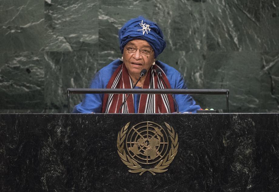 S.E. MmeEllen Johnson-Sirleaf