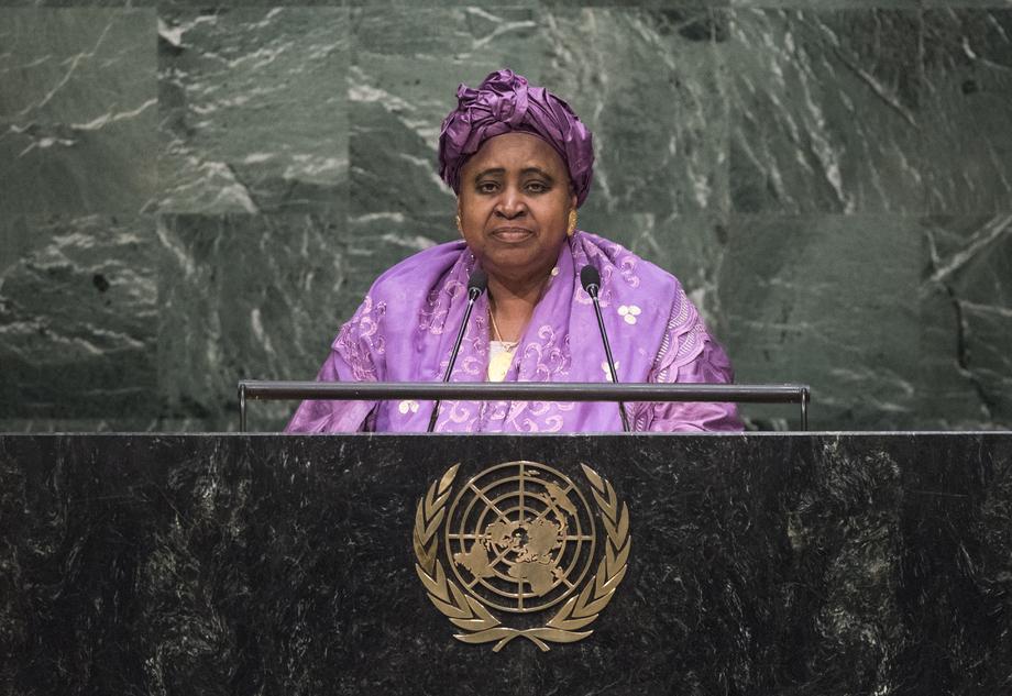H.E. Mr.Aja Isatou Njie-Saidy