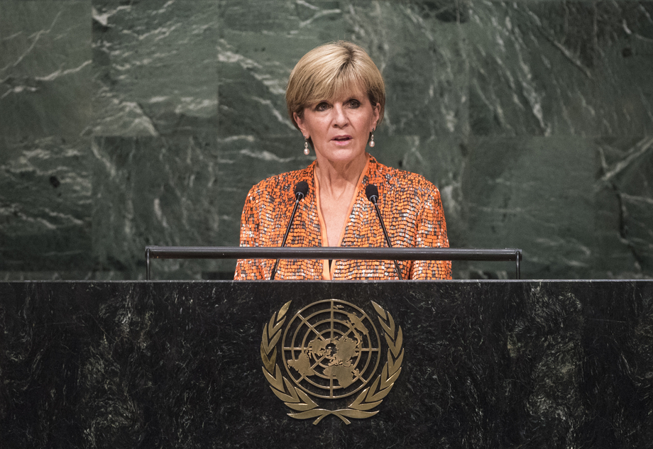 S.E. MmeJulie Bishop