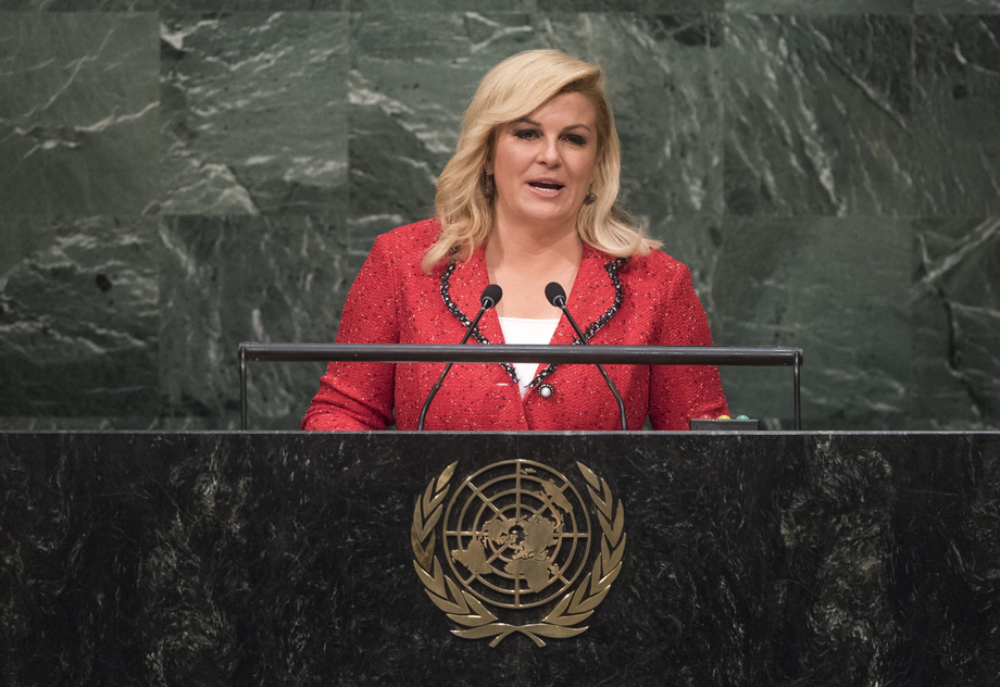 S.E. MmeKolinda Grabar-Kitarović