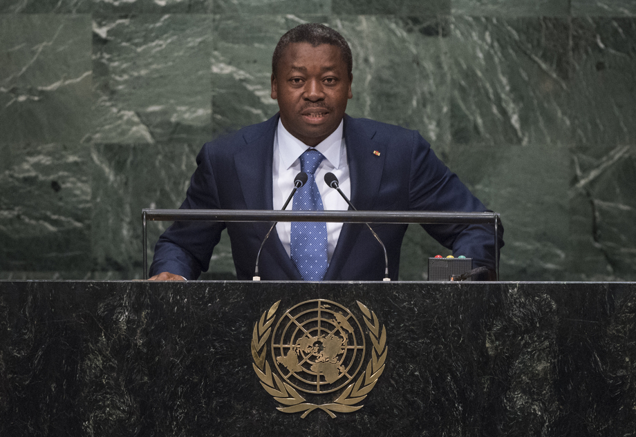 H.E. Mr.Faure Essozimna Gnassingbé