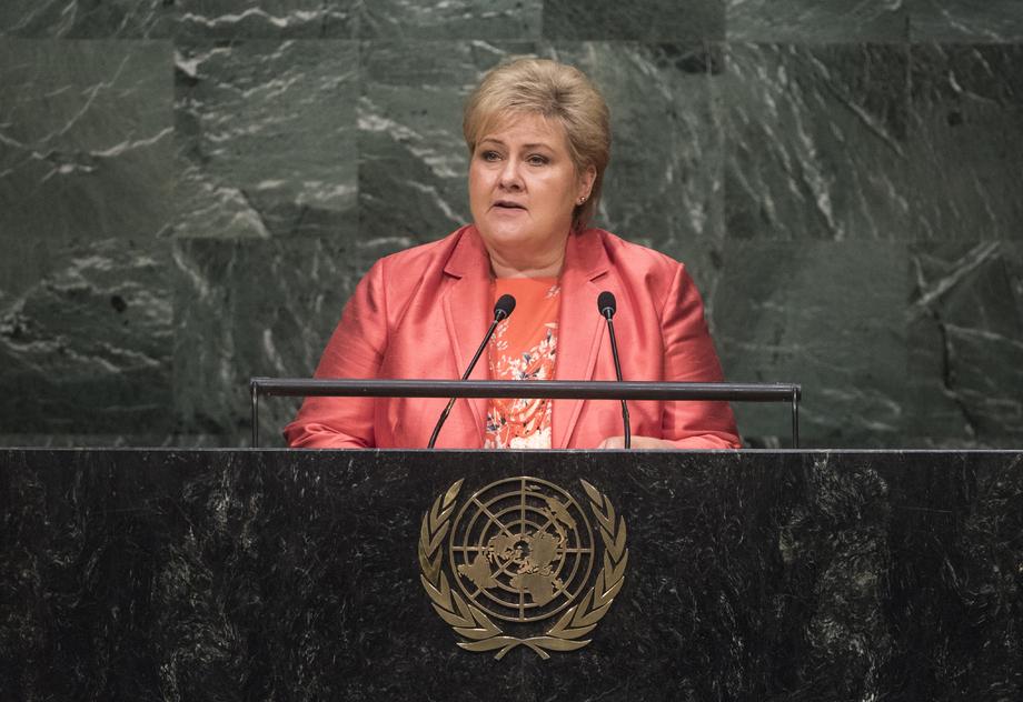 S.E. MmeErna Solberg
