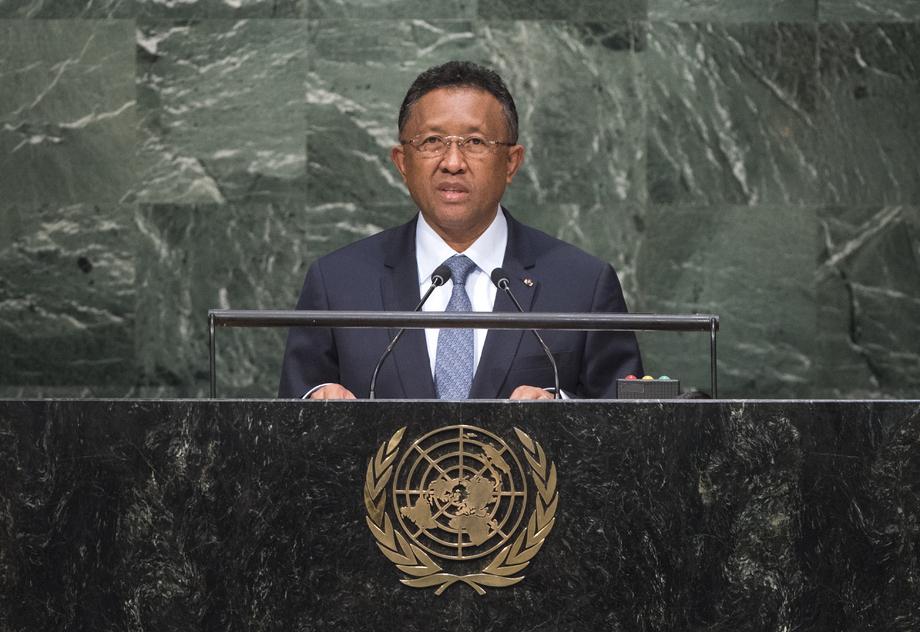 H.E. Mr. Hery Rajaonarimampianina