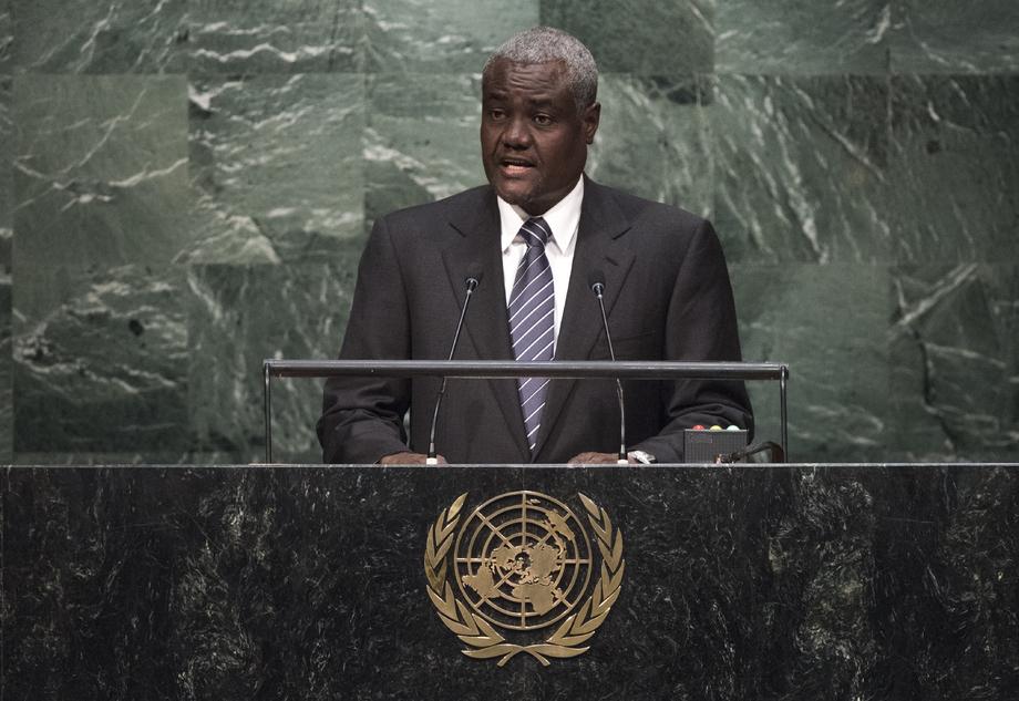 H.E. Mr.Moussa Faki Mahamat