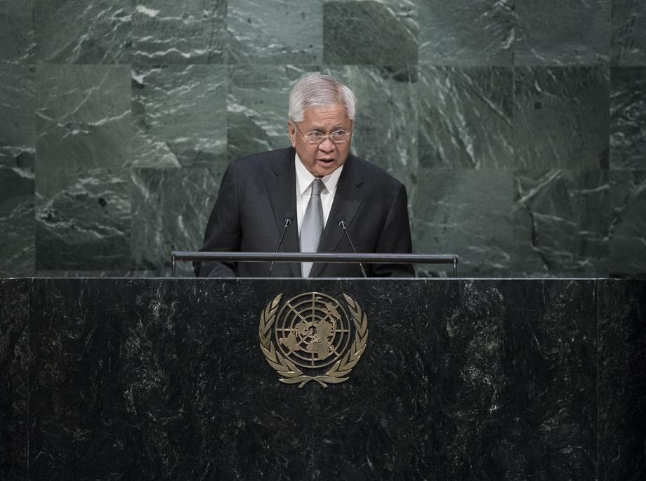 H.E. Mr.Albert Del Rosario
