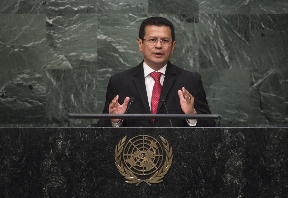 H.E. Mr.Hugo Roger Martínez Bonilla