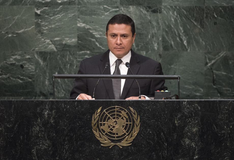 H.E. Mr.Carlos Raúl Morales
