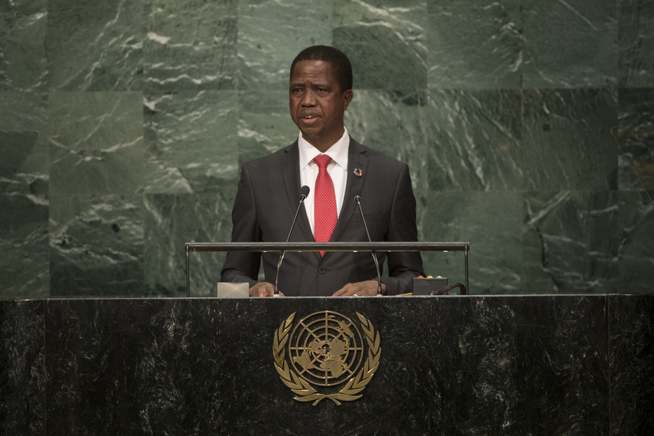 H.E. Mr.Edgar Chagwa Lungu