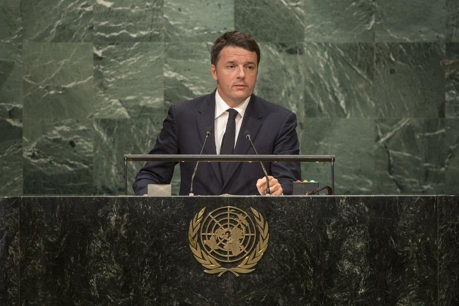 S.E. M.Matteo Renzi