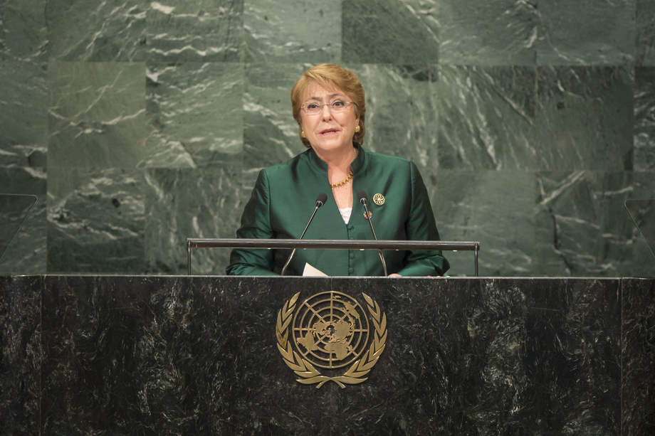 S.E. MmeMichelle Bachelet Jeria