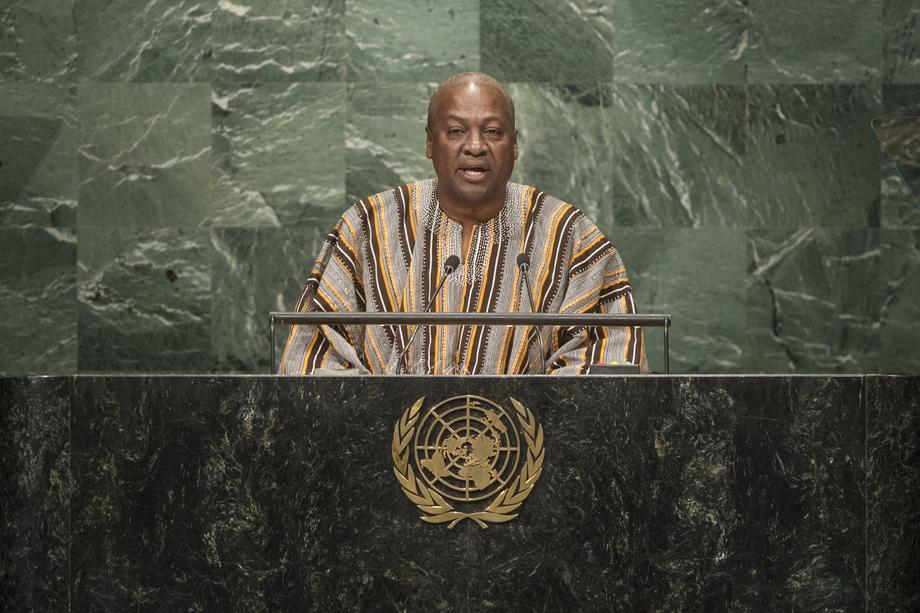 H.E. Mr.John Dramani Mahama