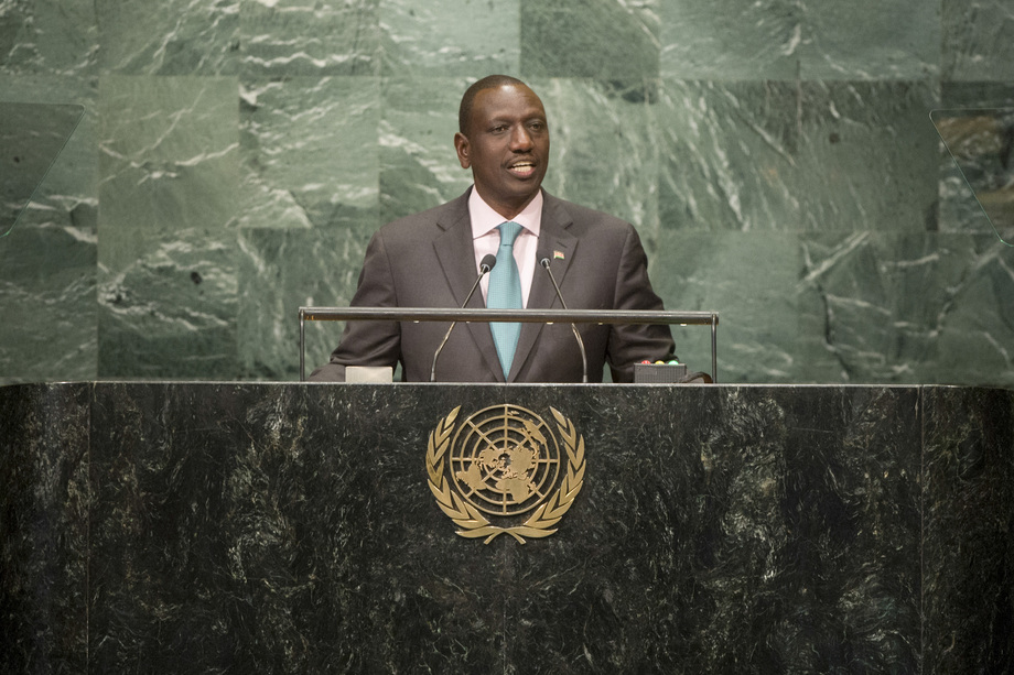S.E. M.William Ruto