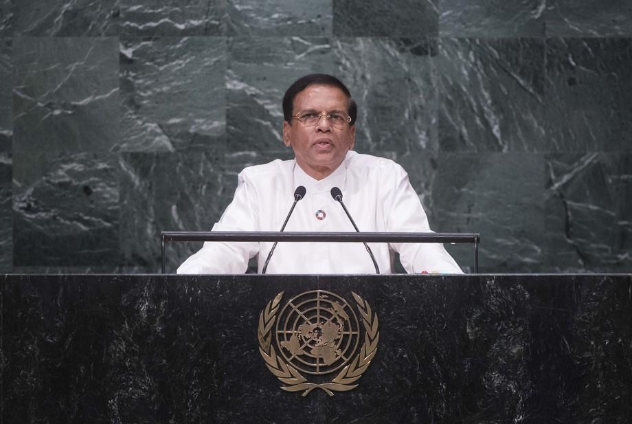 H.E. Mr.Maithripala Sirisena
