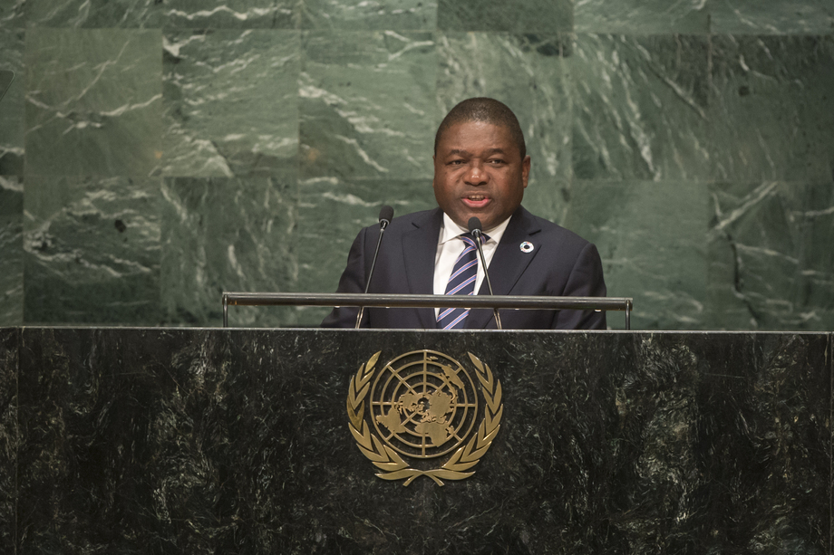 H.E. Mr.Filipe Jacinto Nyusi