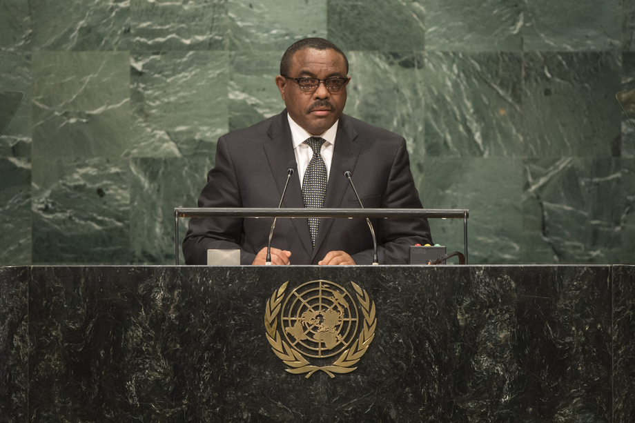 H.E. Mr.Hailemariam Dessalegn