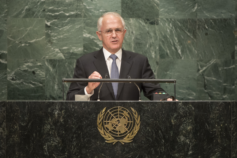 H.E. Mr.Malcolm Turnbull