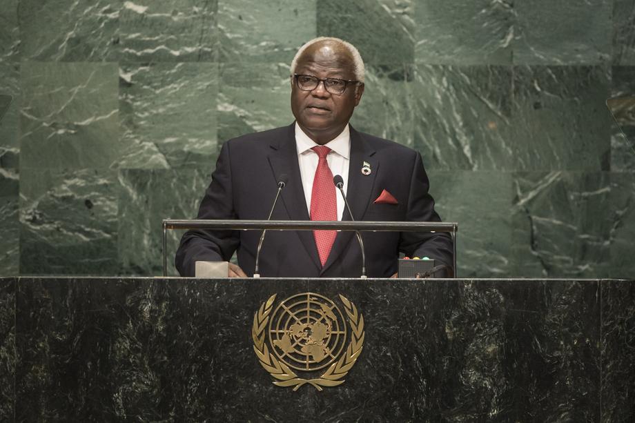 H.E. Mr.Ernest Bai Koroma