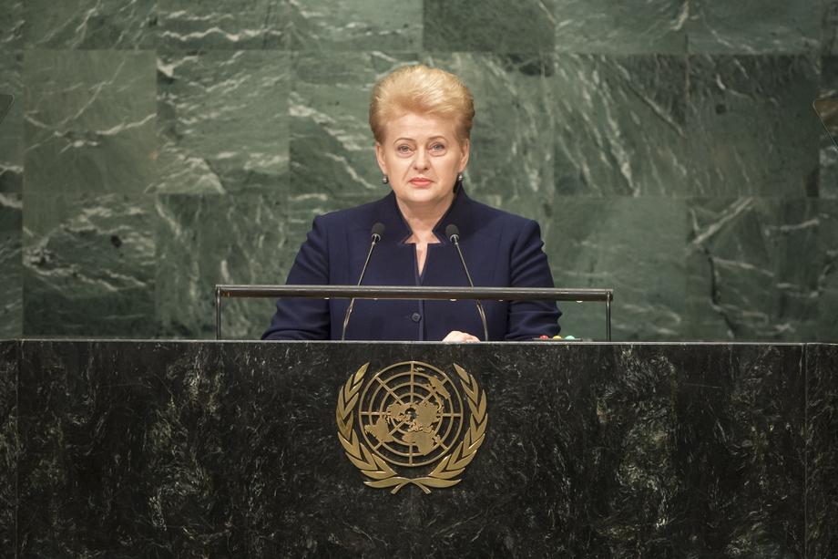 H.E. Ms.Dalia Grybauskaité