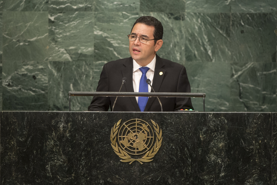 H.E. Mr.Jimmy Morales