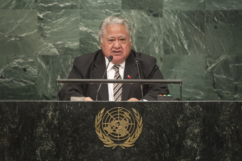 H.E. Mr. Tuilaepa Sailele Malielegaoi