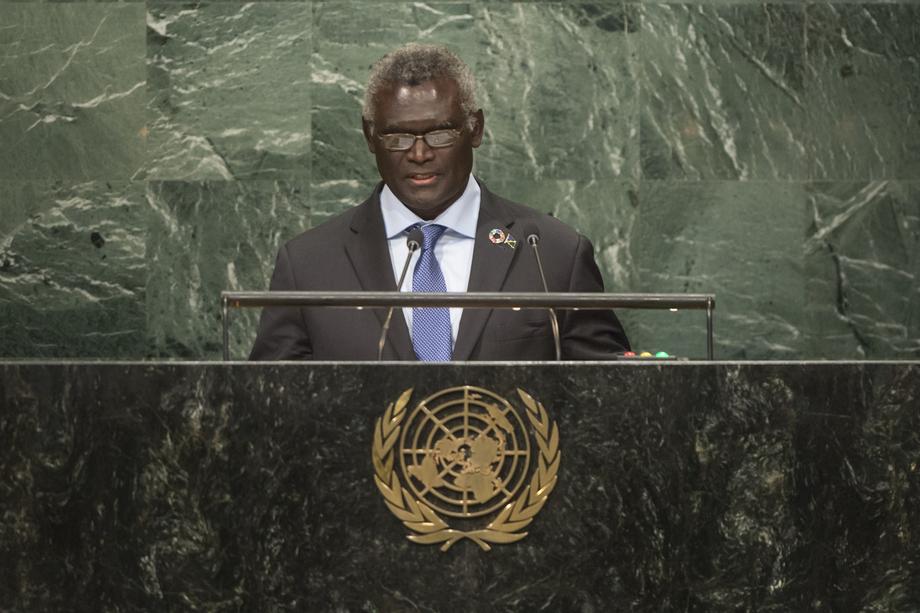 H.E. Mr.Manasseh Sogavare