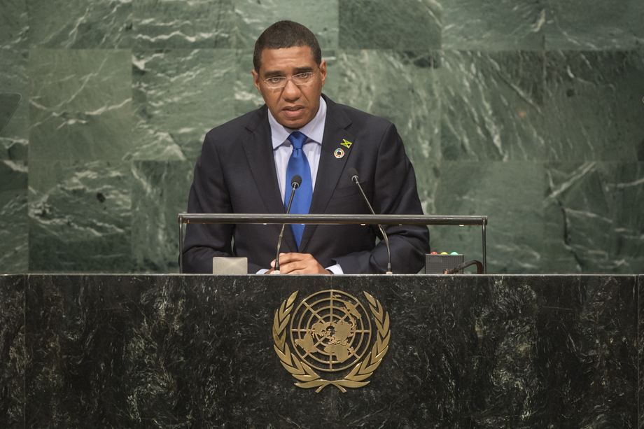 H.E. Mr.Andrew Holness