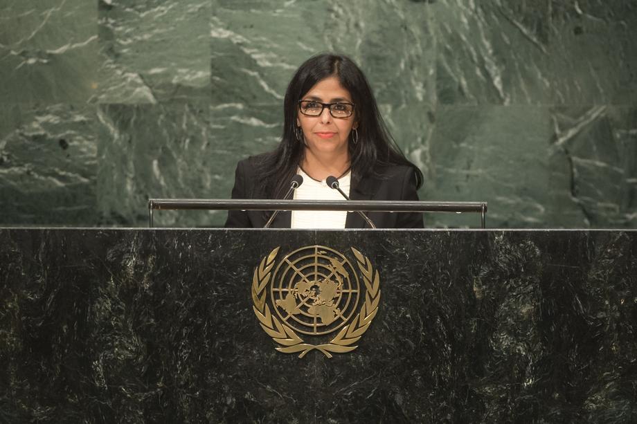 H.E. Ms.Delcy Eloína Rodríguez Gómez