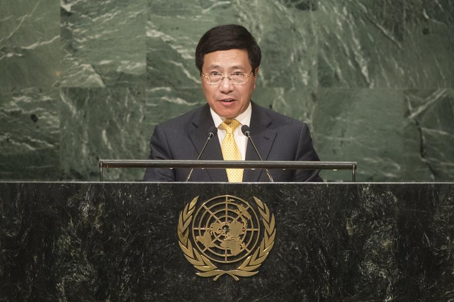 H.E. Mr.Phạm Bình Minh