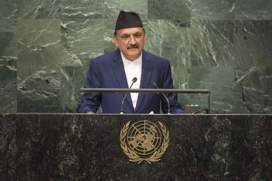 H.E. Mr.Prakash Sharan Mahat