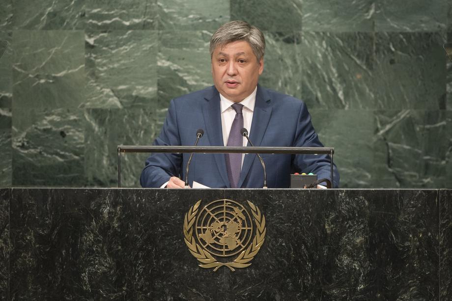 H.E. Mr.Erlan Abdyldayev