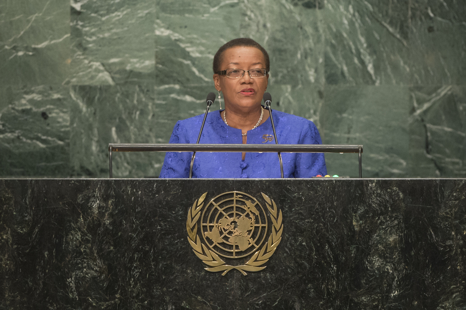 H.E. Ms.Maxine Pamela Ometa McClean