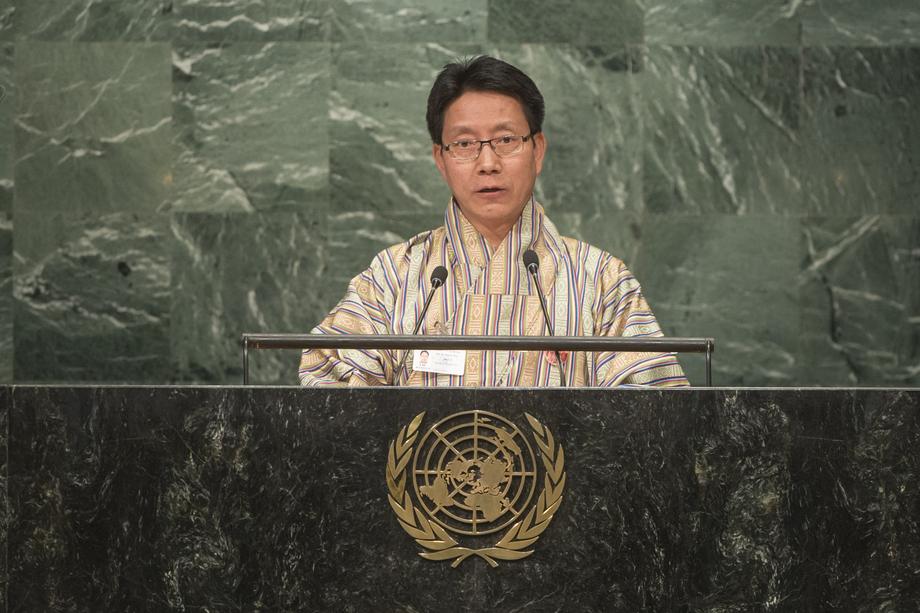 H.E. Mr.Lyonpo Damcho Dorji