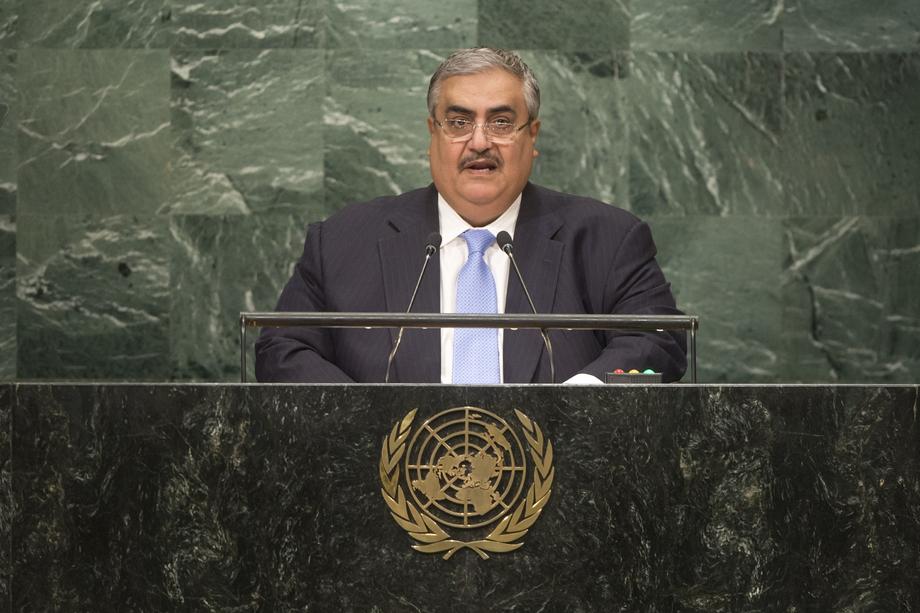 H.E. Mr.Shaikh Khalid Bin Ahmed Al-Khalifa
