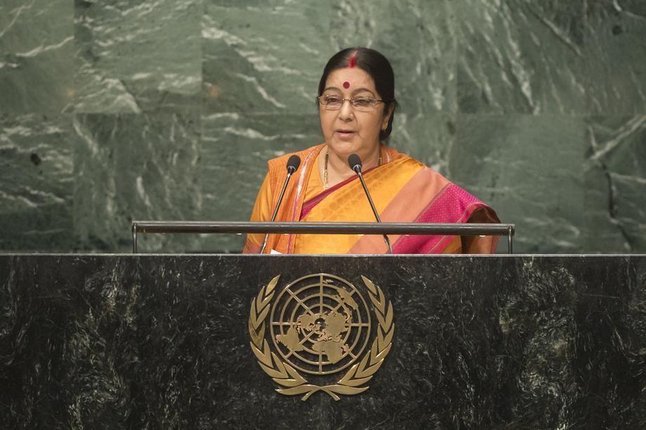 H.E. Ms.Sushma Swaraj