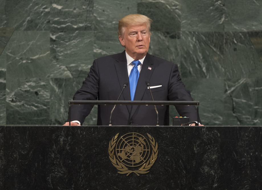 Image result for Trump UN 73rd session speech