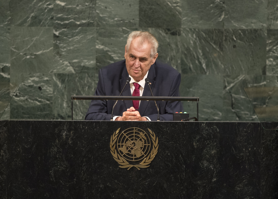 H.E. Mr.Miloš Zeman