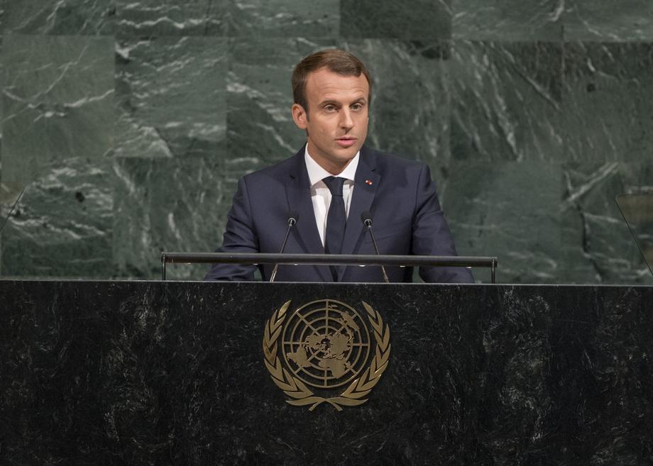 S.E. M.Emmanuel Macron