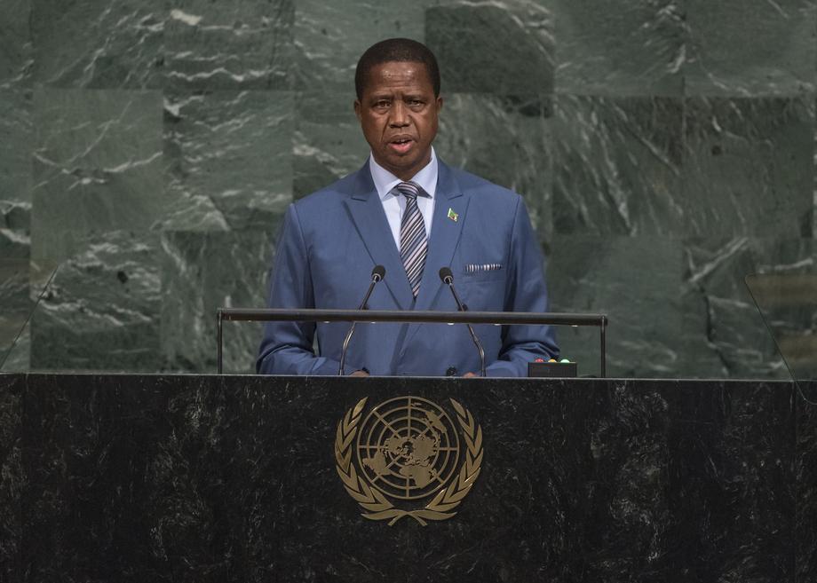 H.E. Mr.Edgar Chagwa Lungu