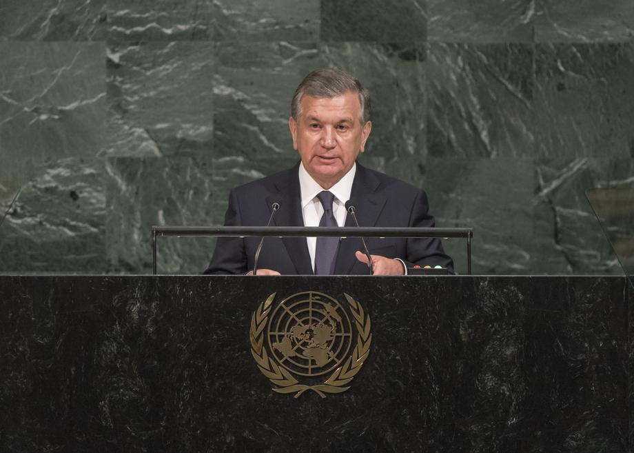 H.E. Mr.Shavkat Mirziyoyev
