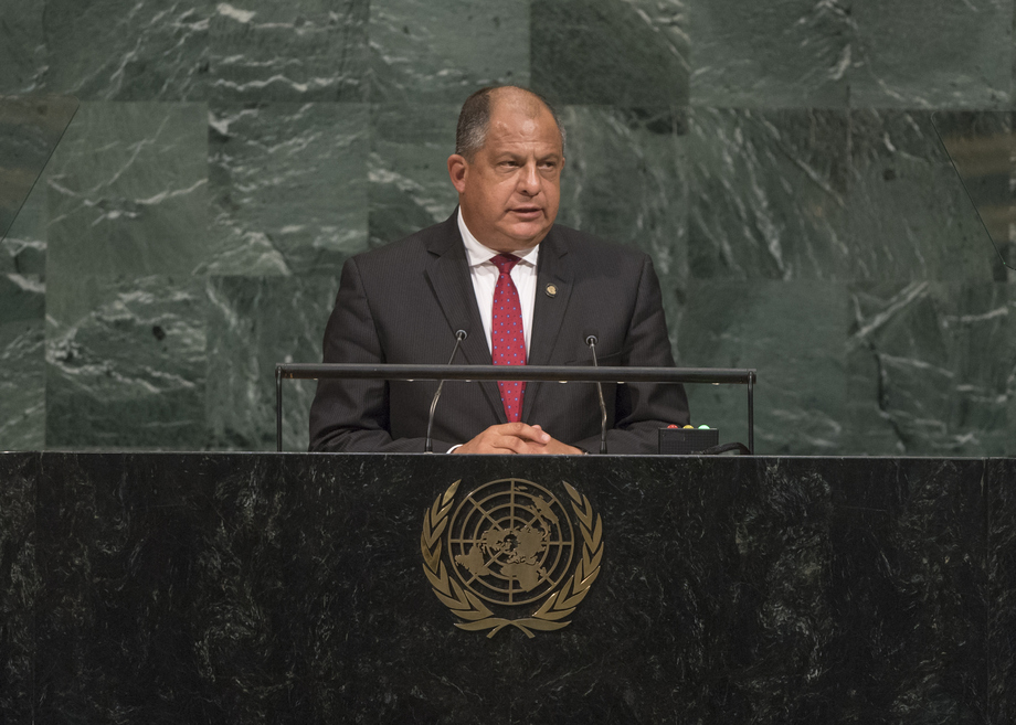 H.E. Mr.Luis Guillermo Solís Rivera