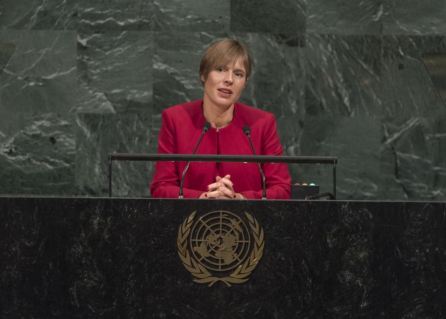 H.E. Mrs. Kersti Kaljulaid