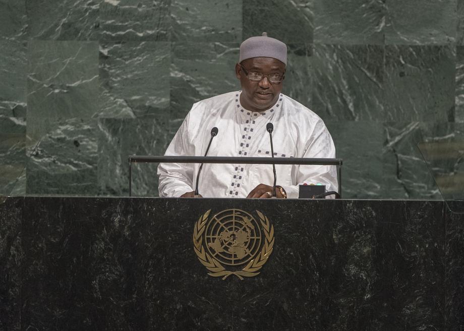 S.E. M.Adama Barrow
