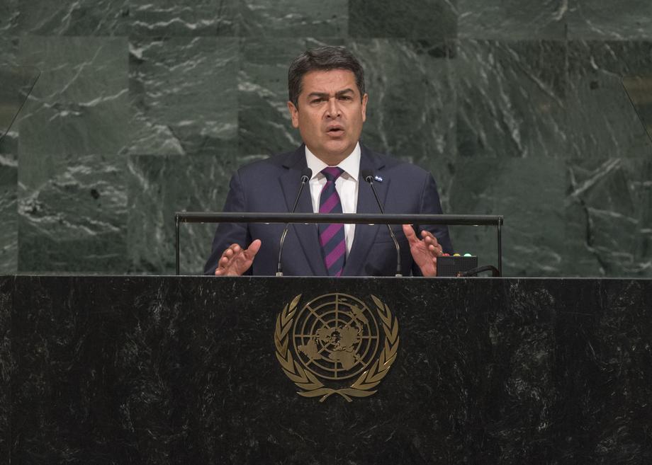 H.E. Mr.Juan Orlando Hernández Alvarado