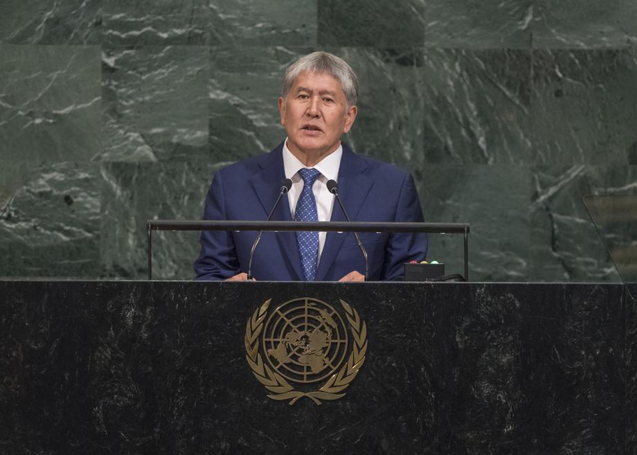 H.E. Mr.Almazbek Atambaev